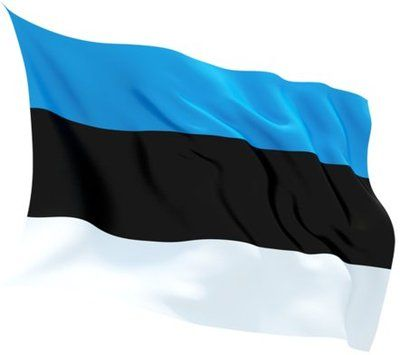 Flag of Estonia-b